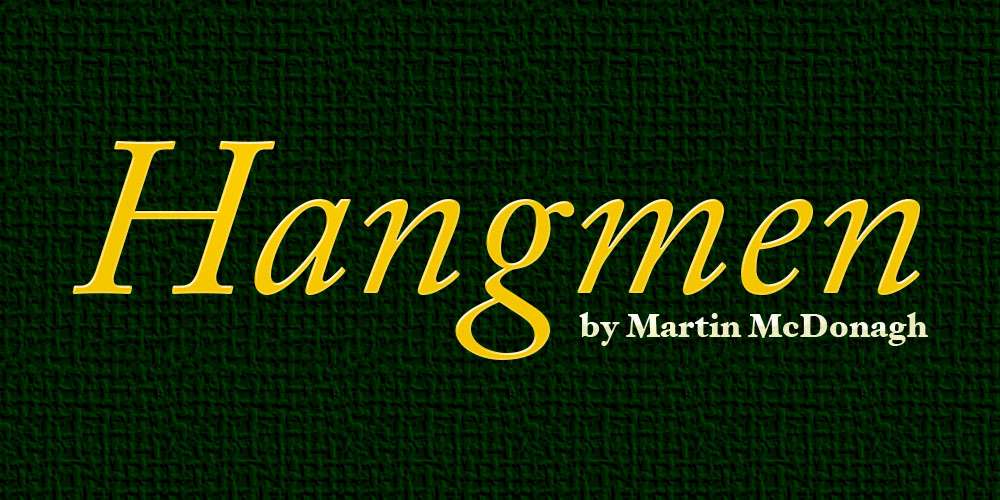 Read This: Hangmen by Martin McDonagh