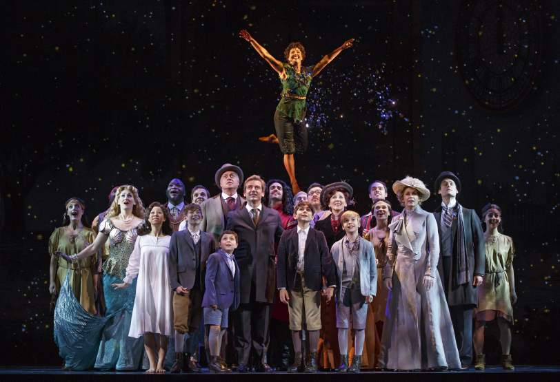 """Review: """"Finding Neverland"""" at the Golden Gate Theatre(tour)"""