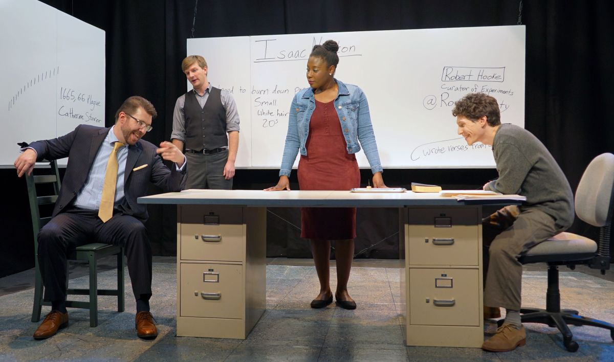 """Review: """"Isaac's Eye"""" at The Custom Made TheatreCo."""
