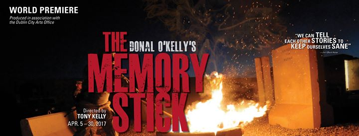 "Review: Donal O'Kelly's ""The Memory Stick"" at The Stage, San Jose"