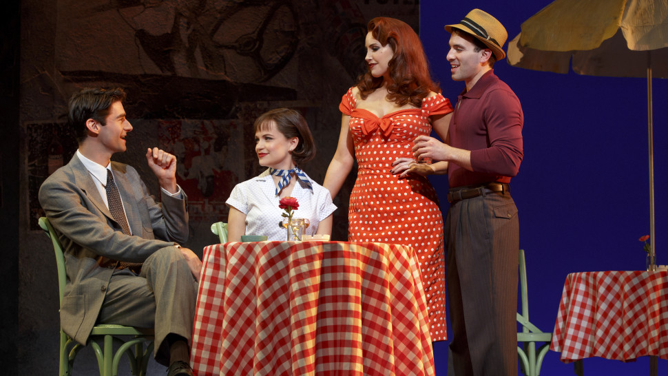 "Review: ""Roman Holiday: A New Musical"" at the Golden Gate Theatre"